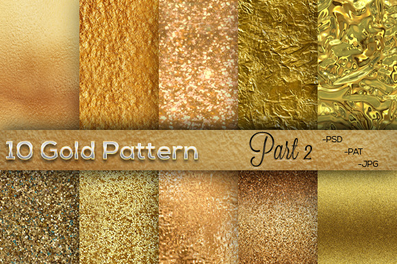 10 Gold Pattern Part 2