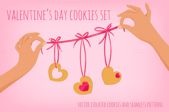 Vector Valentine S Day Set