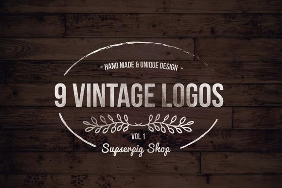 Vintage Logos V1