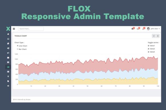 FLOX Responsive Admin Template