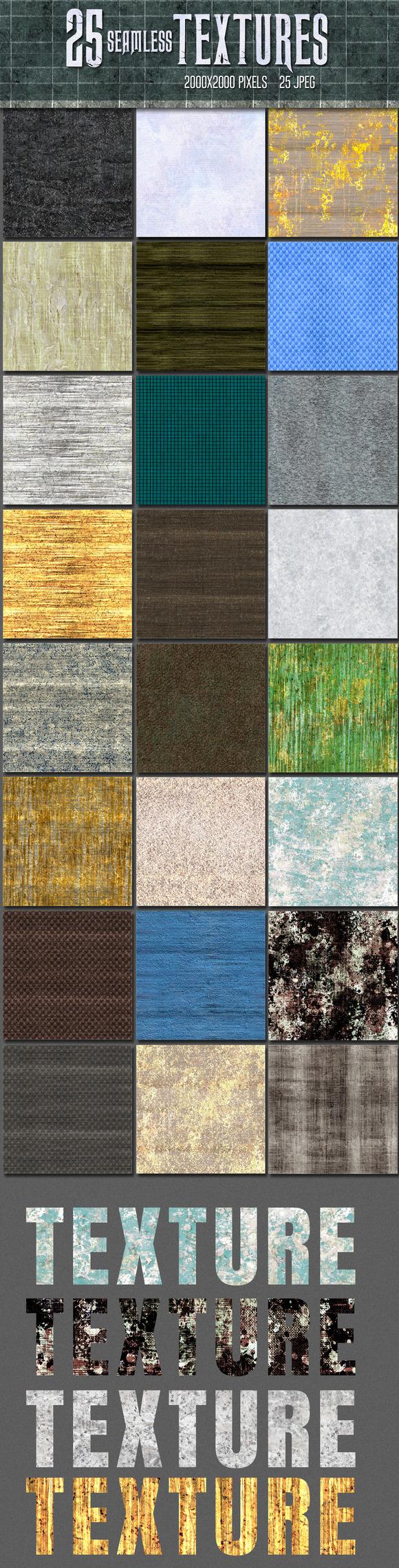 25 Seamless Textures