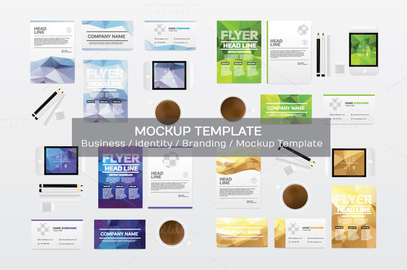 Business Branding Mockup Template