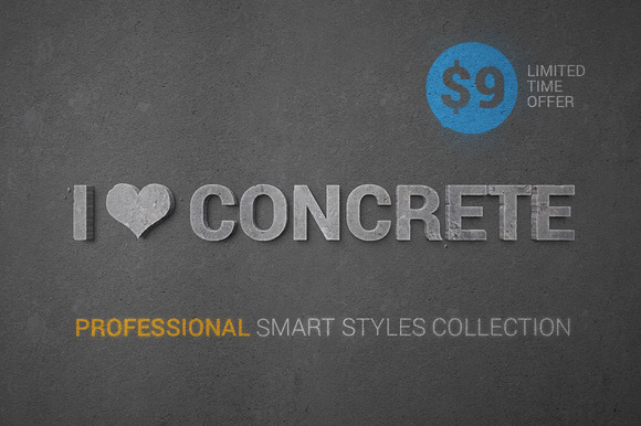 I Concrete Professional Styles