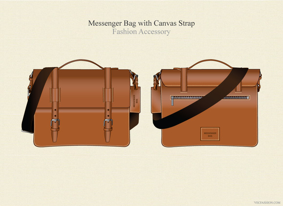 Messenger Bag Fashion Accessory