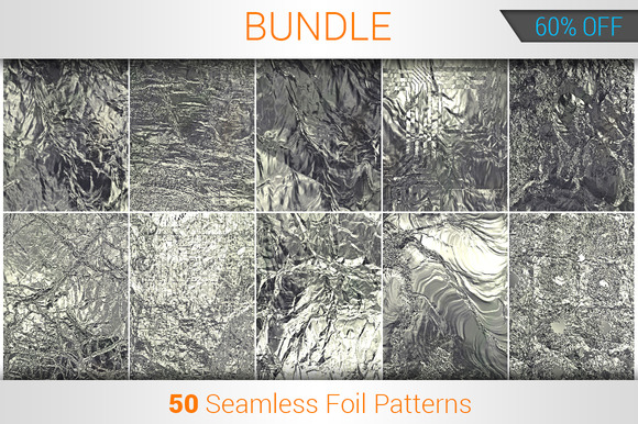 50 Seamless Foil Patterns