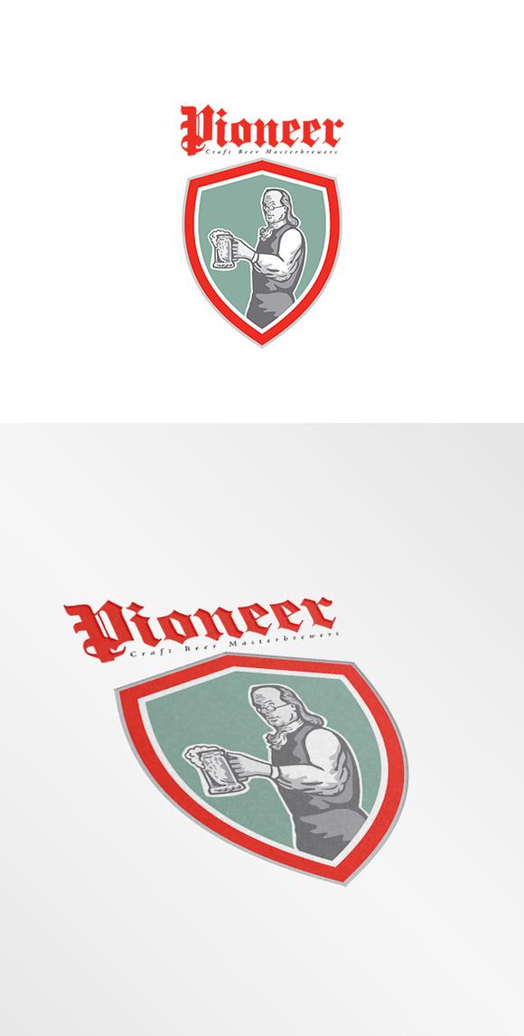 Pioneer Craft Beers Logo
