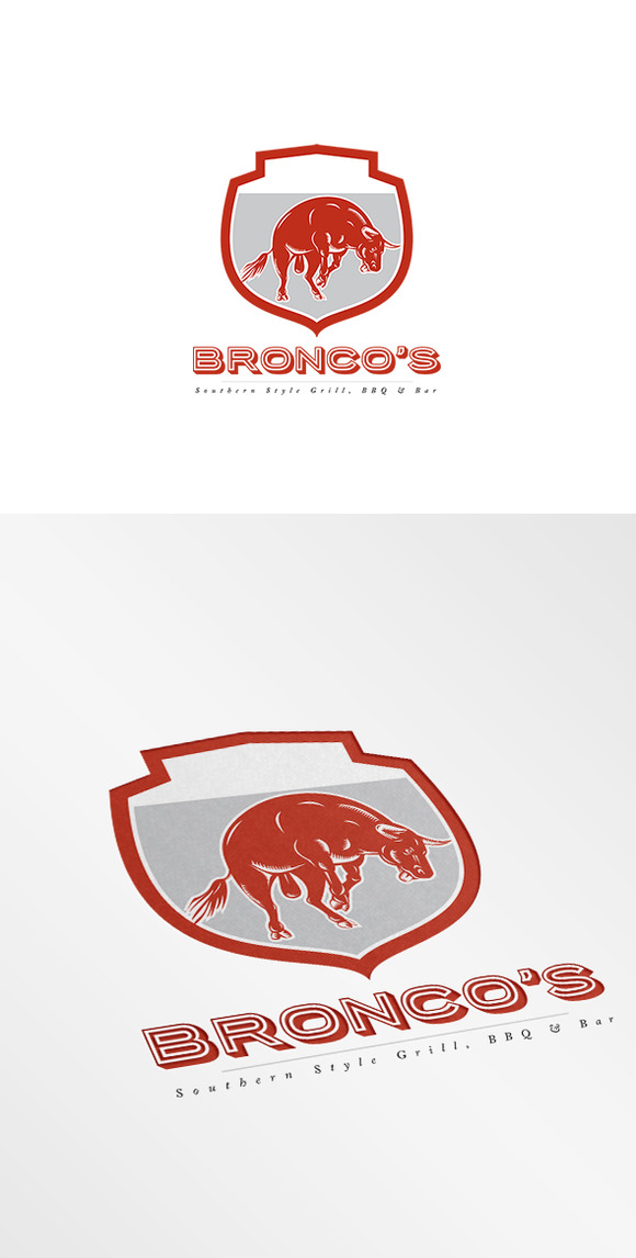 Bronco S Southern Bar And Grill Logo