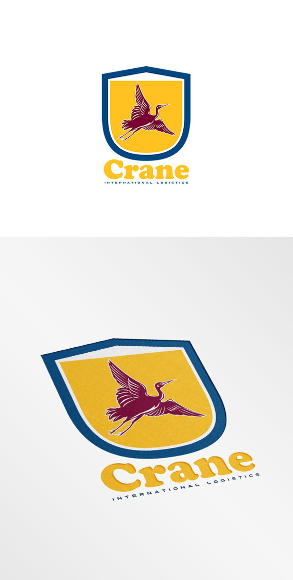 Crane International Logistics Logo