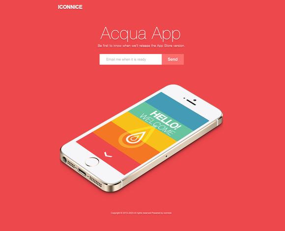 Acqua App Subscribe
