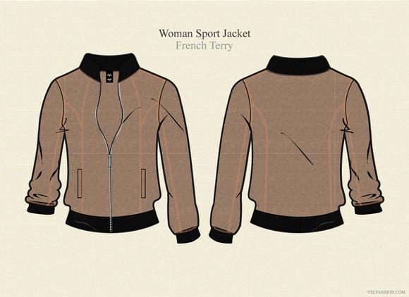 Woman Sport Jacket