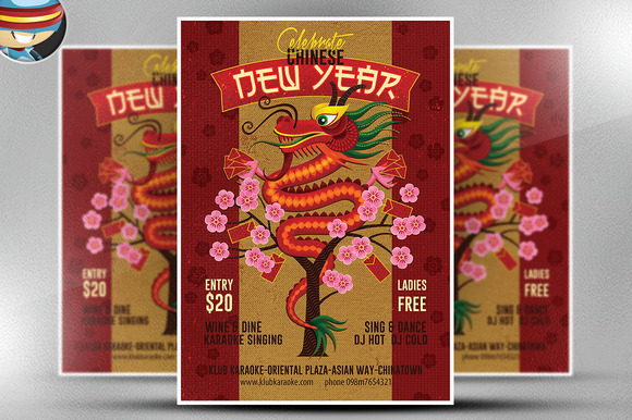 Illustrated Chinese New Year 2