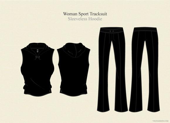 Woman Sport Tracksuit