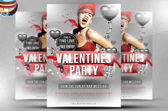 Valentine S Flyer Template