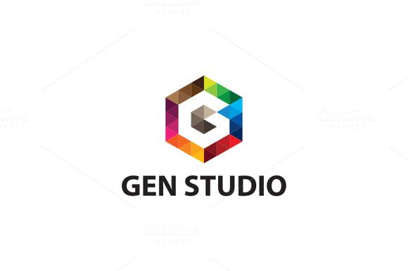 Gen Studio G Letter Logo