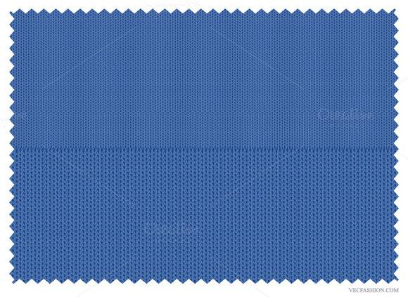 Knitted Interlock Fabric Texture