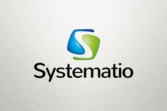 Systematio S Letter Logo