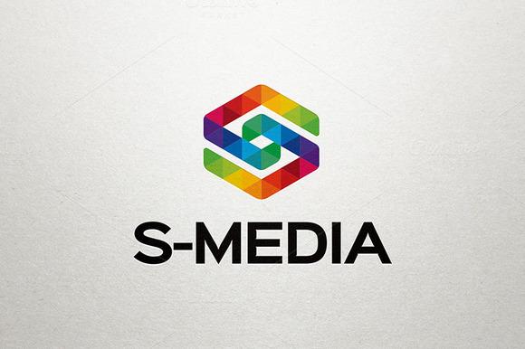 S Media Letter S Logo