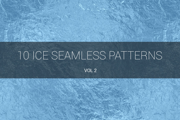 Ice Seamless Patterns