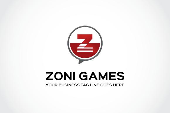 Zoni Games Logo Template