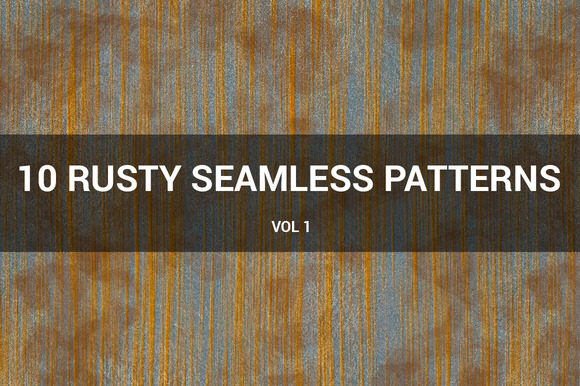 Rusty Metal Seamless Patterns