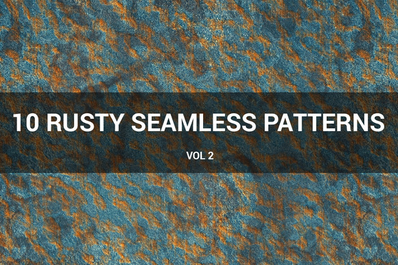 Rusty Metal Seamless Patterns