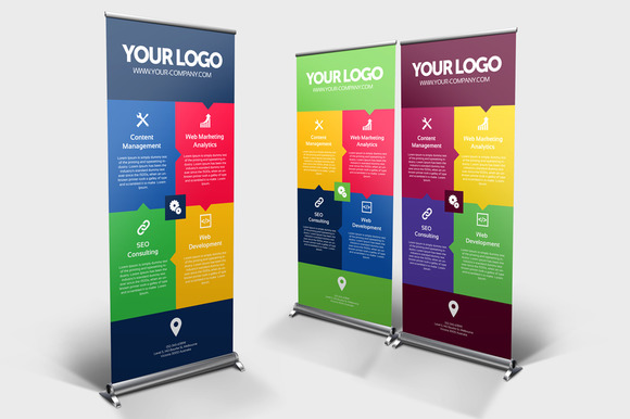 Business Roll-up Banner Vol 04