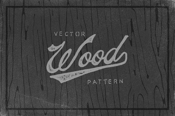 Vector Wood Pattern