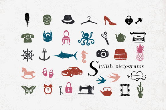 Stylish Pictograms