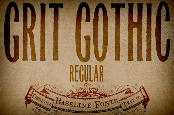Grit Gothic From Grit History B