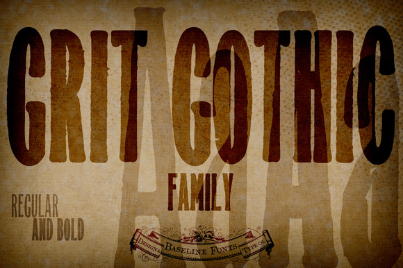 Grit Gothic Family