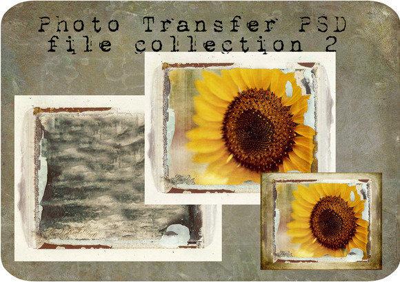 Photo Transfer PSD Files Set 2