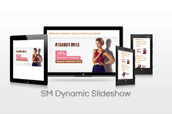 SM Dynamic SlideShow Magento Module