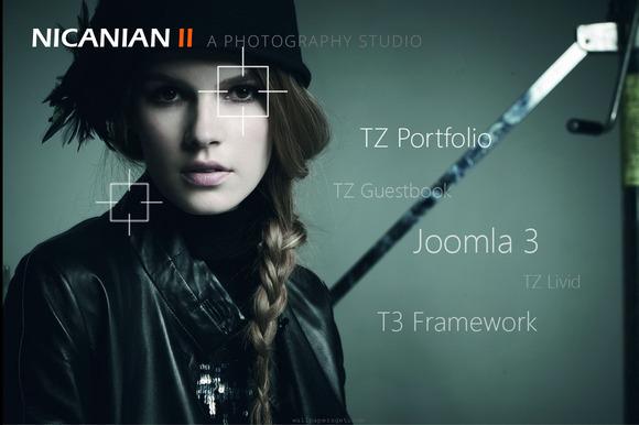 Nicanian II Joomla Template