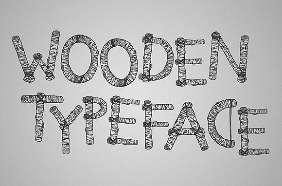 Limber Limb A Wooden Typeface