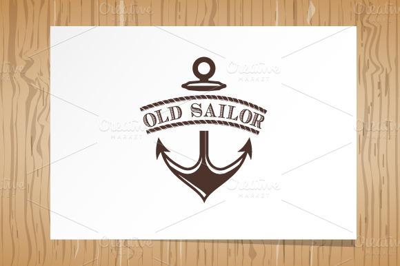 Old Sailor Logo Template