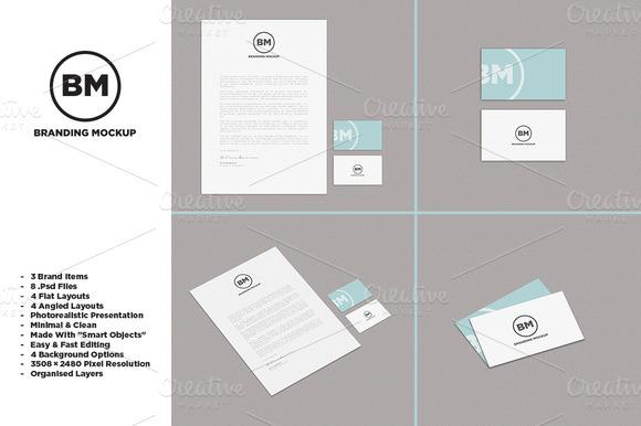 Clean Branding Identity Mockup