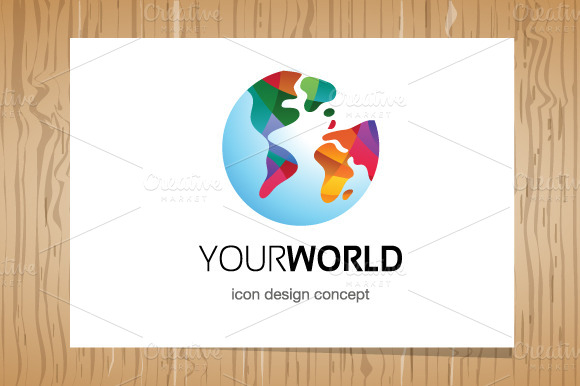 Your World Logo Logo Template