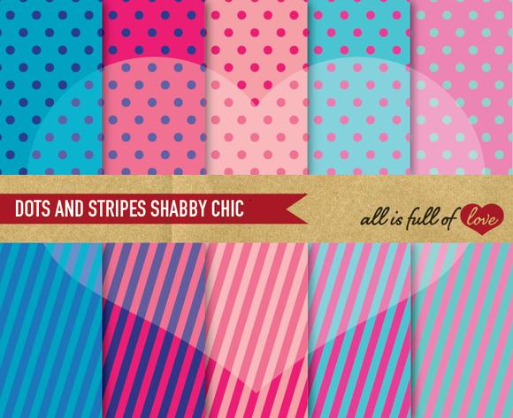 Printable Pink Blue Patterns