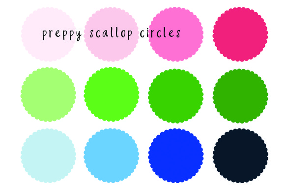 Scallop Circles