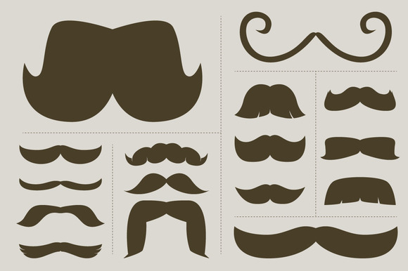 Classic Mustache Collection 2