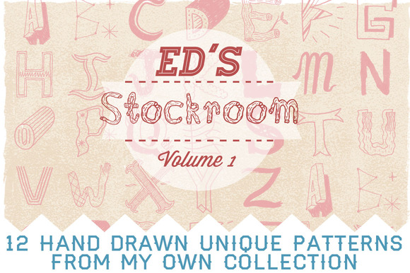 Ed S Stockroom Hand Drawn Patterns