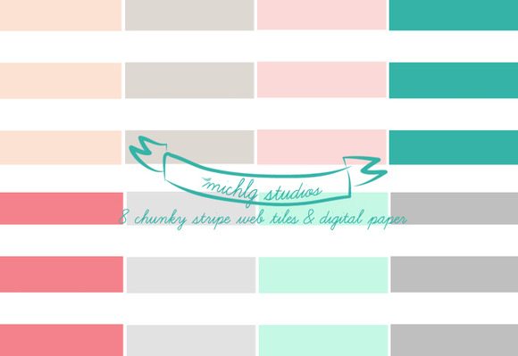 Chunky Stripe 8 Web Tiles High Res
