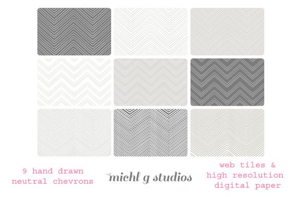 9 Neutral Chevrons