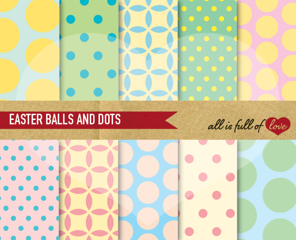 Digital Scrapbooking Patterns Pack