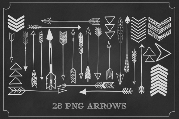 28 PNG Arrows
