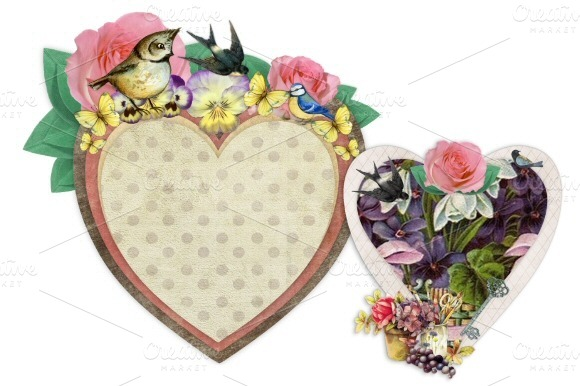 Heart Embellishment Frame