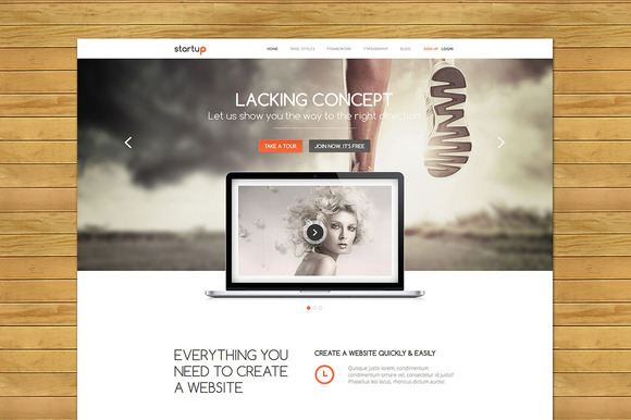 Startup Responsive Business Theme