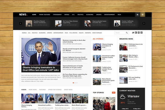 NEWS Responsive WordPress Magazine