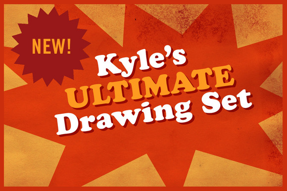 Kyle S Ultimate Drawing Set