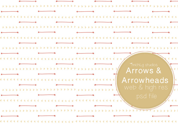 Arrow Arrowheads PSDs